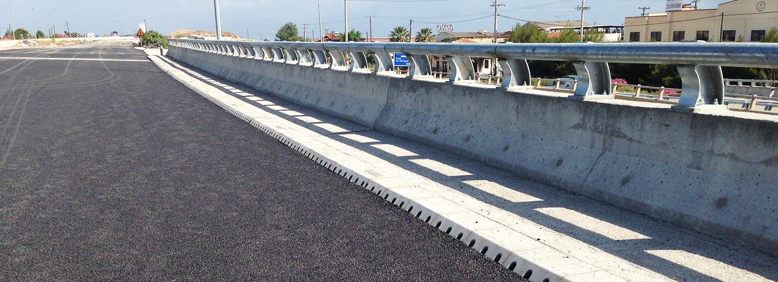 Combined Kerb, Channel & Bridge Drainage - Pipeline